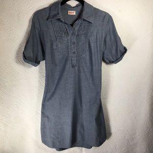 Woman's Small Mossimo Blue/Denim Shirt Dress
